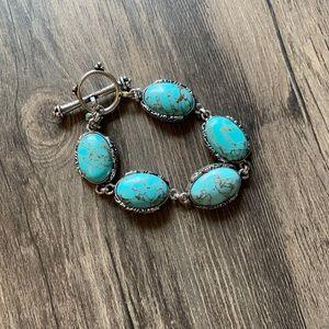 Lucky Brand turquoise bracelet 🍀